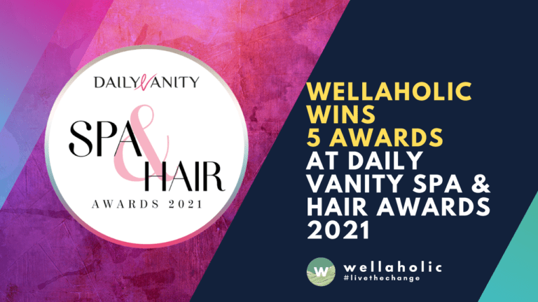 Wellaholic wins 5 awards in Daily Vanity
