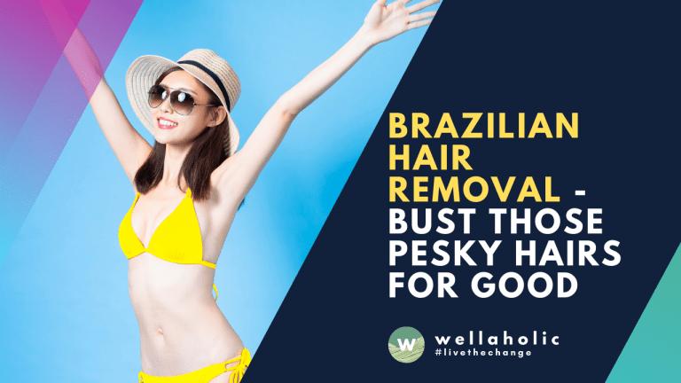2021 Wellaholic Youtube & Website - Pesky Hairs
